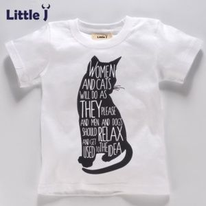 """Other - Girl's t-shirt """"women and cats"""" 24 mo., 6 yr."""